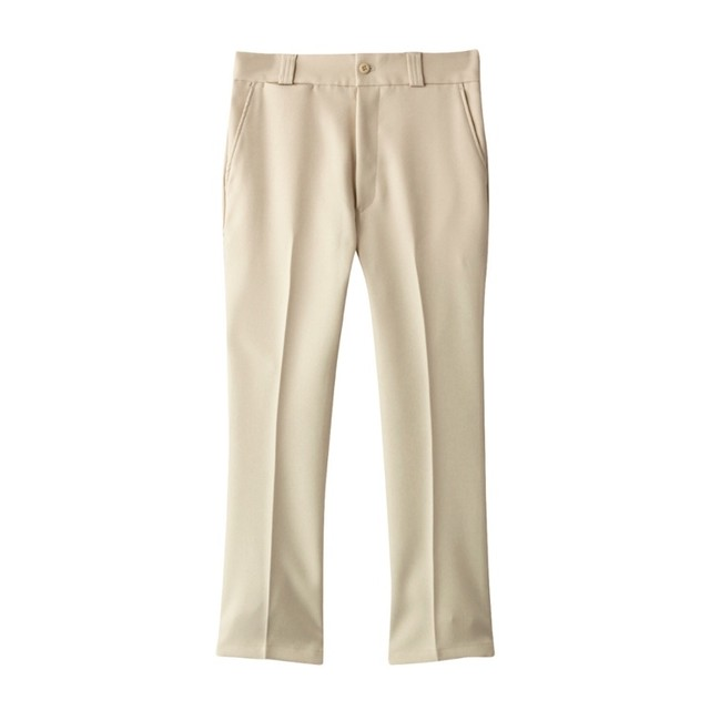 THE SHINZONE(CROPPED FLARE PANTS)