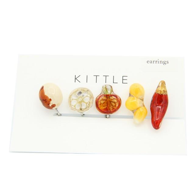 KITTLE/キトル/5点セットイヤリング5