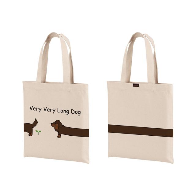 VERY VERY LONG DOG TOTE BAG