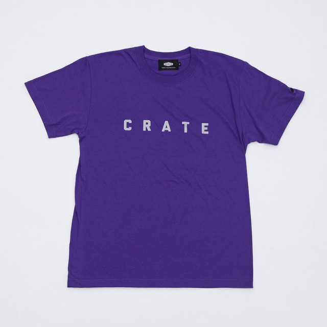 CRATE Color T-Shirts Purple