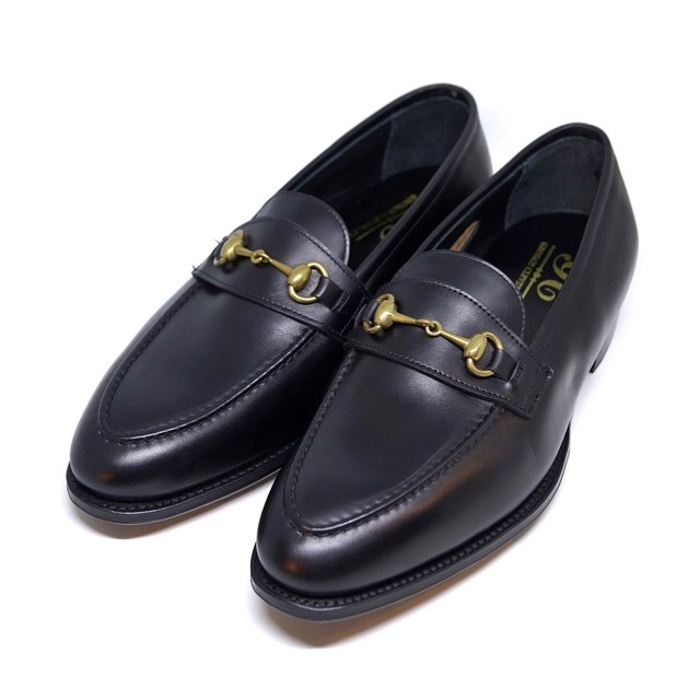 """GEORGE CLEVERLEY / """"The Colony"""" ビットローファー / Black"""