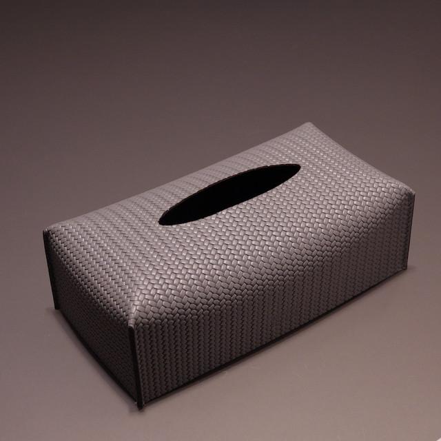 FIRENZE DARK GREY / PINETTI TISSUE BOX(フィレンツェ ダークグレイ / ピネッティ ティッシュボックスケース)341.061.055