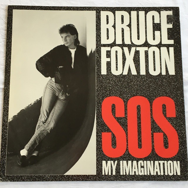 【12inch・英盤】Bruce Foxton  /  S.O.S. My Imagination