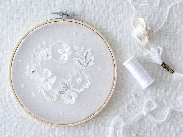 """""""Haute couture embroidery  """" DIY kit & Video lesson"""