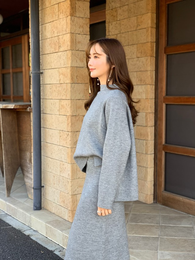 kint up pullover / gray (即納)