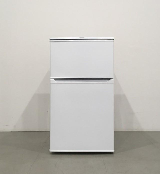 【極美品】 アイリスオーヤマ  IRR-A09TW-W 2ドア冷凍冷蔵庫 2017年製