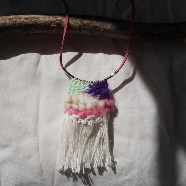 ≪オリジナル≫手織りネックレス【メキシコ】