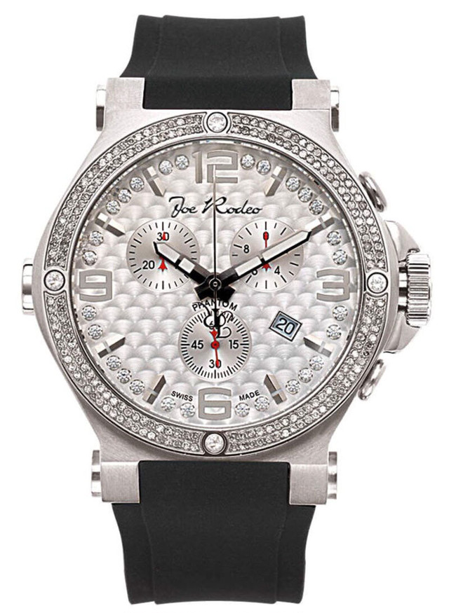 JOE RODEO PHANTOM MENS DIAMOND WATCH 2.25CT