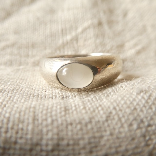 80s vintage silver ring