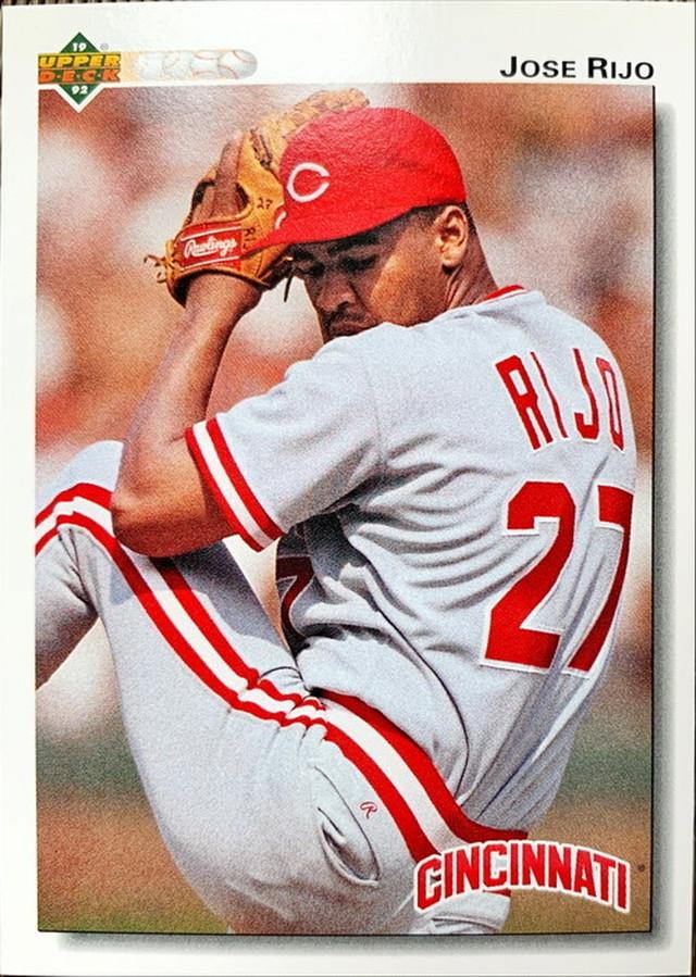 MLBカード 92UPPERDECK Jose Rijo #258 REDS