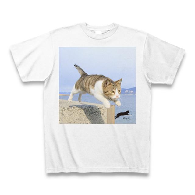 飛び猫Tシャツ4【送料無料】