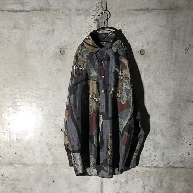[used] mode japanese atmosphere designed shirt