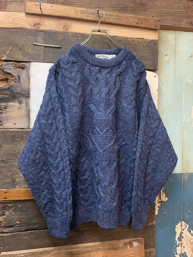 aran crafts fishermans sweater