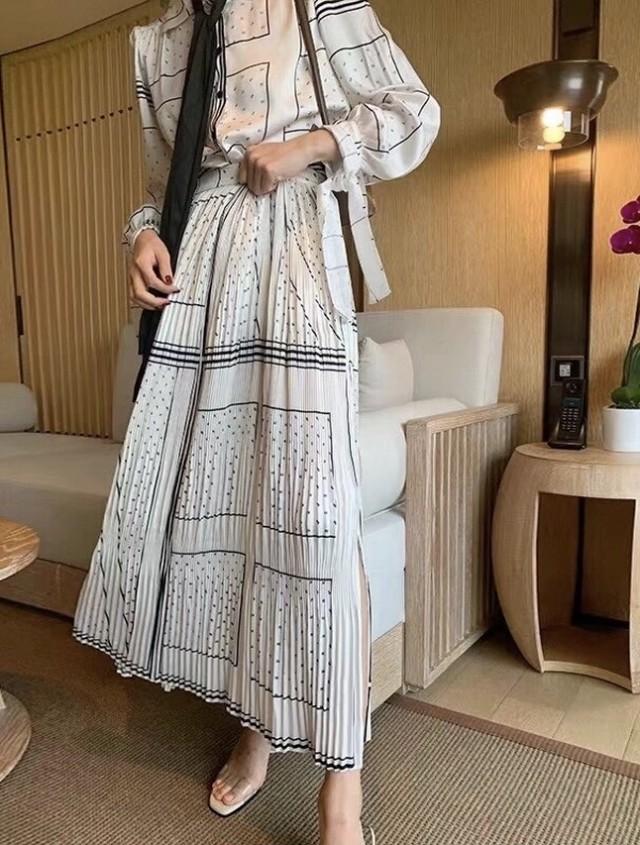 スナップレザースカート レザースカート スカート ロングスカート 韓国ファッション