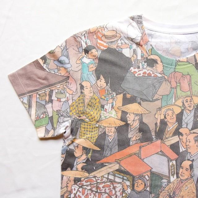 Tシャツ 百貨店圖 日本橋三越