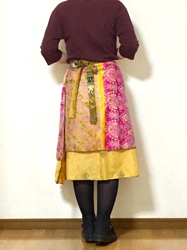 dss-046 シルクサリー巻きスカート ショート