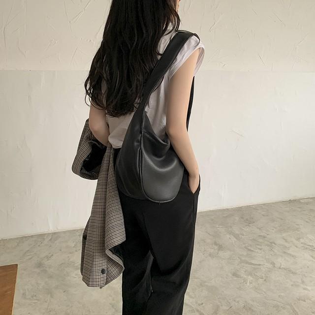 wide strap shoulderbag(2color)