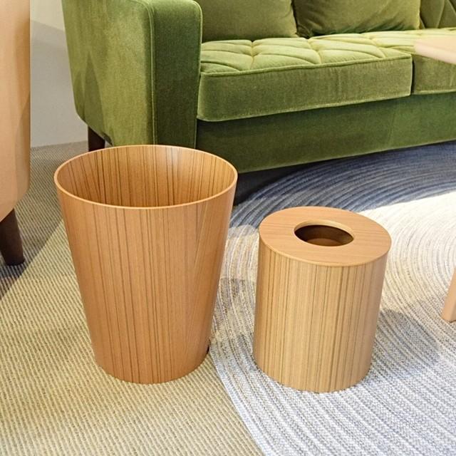 SAITO WOOD サイトーウッド バスケット ゴミ箱