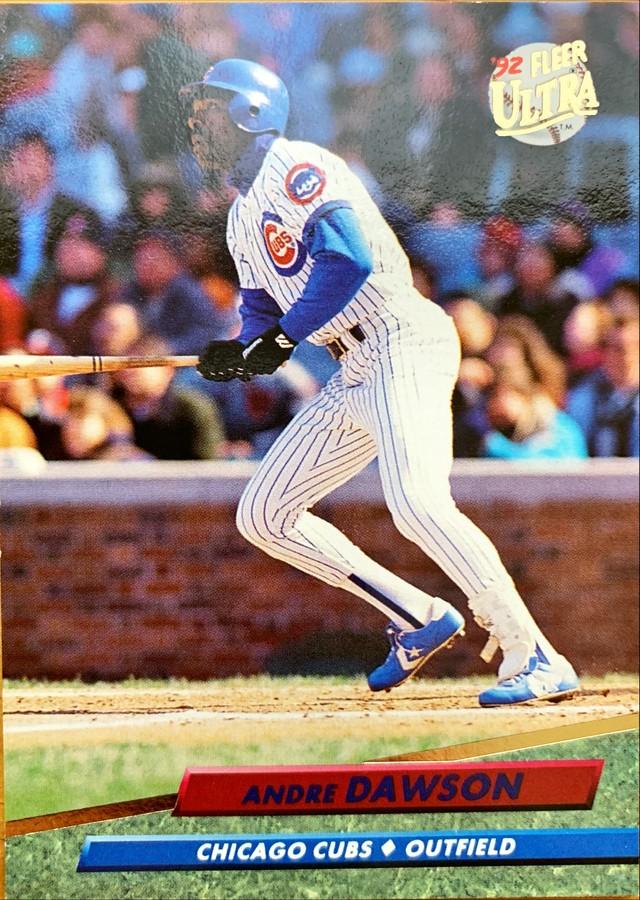 MLBカード 92FLEER Andre Dawson #468 CUBS