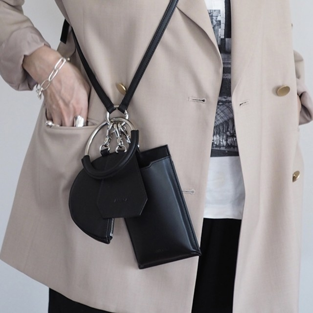 【 ANIECA 】Mini Leather Bag