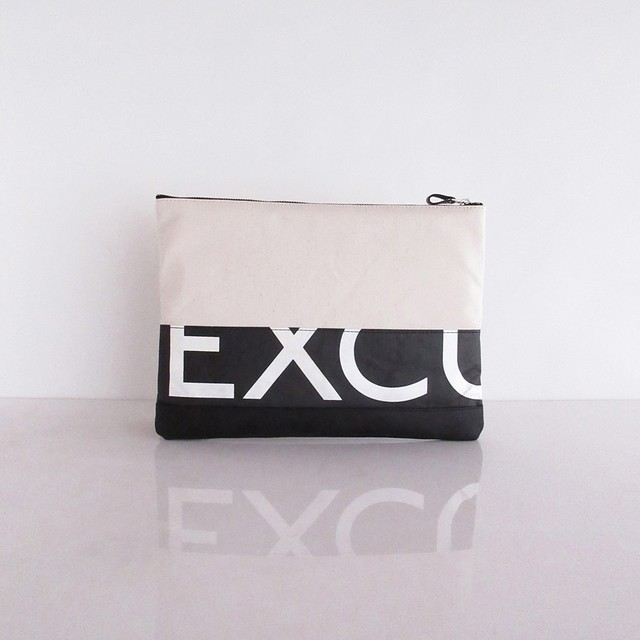 Clutch Bag / White  CLW-0015