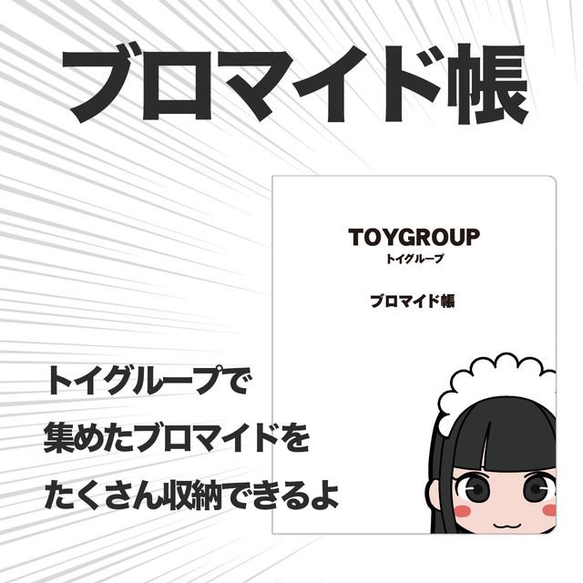 【グッズ】トイグループ ブロマイド帳