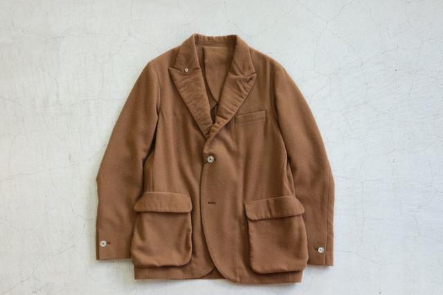 Kemit 【ケミット 】ウールカシミア ジャケット キャメル