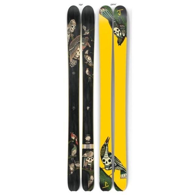 【予約】J skis - スラッカー「フロック」Kyler Martz x Jコラボ限定版スキー【特典付き】