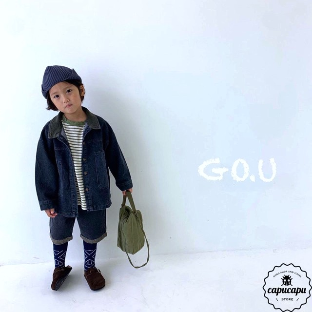 «sold out» go.u denim jacket 2colors デニムジャケット