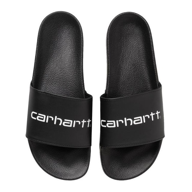 CARHARTT WIP SLIPPER - Black