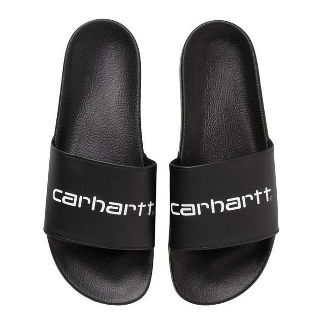 CARHARTT WIP SLIPPER - Black