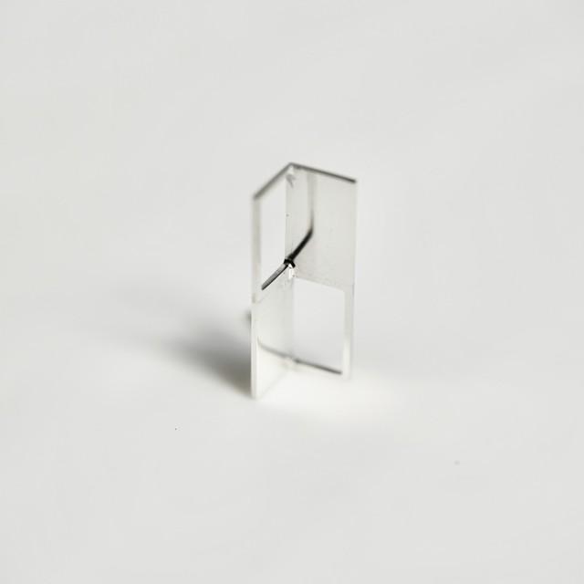 adachiyukari. / ピアス x(times) x/P-2.2 silver