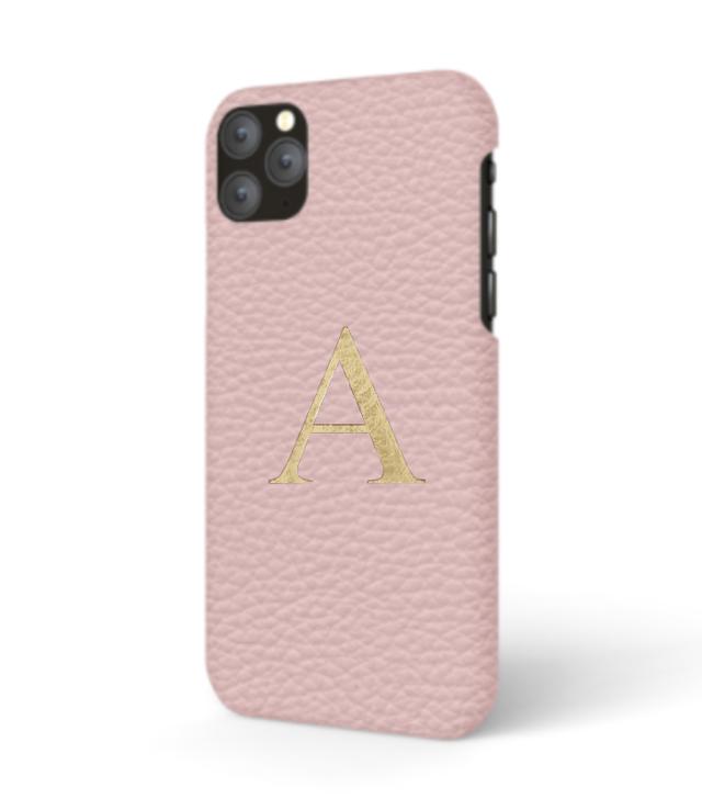 iPhone 11 PRO Premer Shrink Leather Case (Blush Pink)