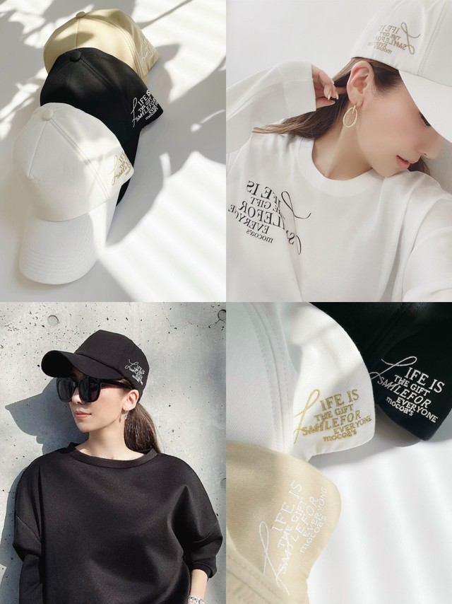 LIFE IS THE GIFT CAP ¥4,800+tax