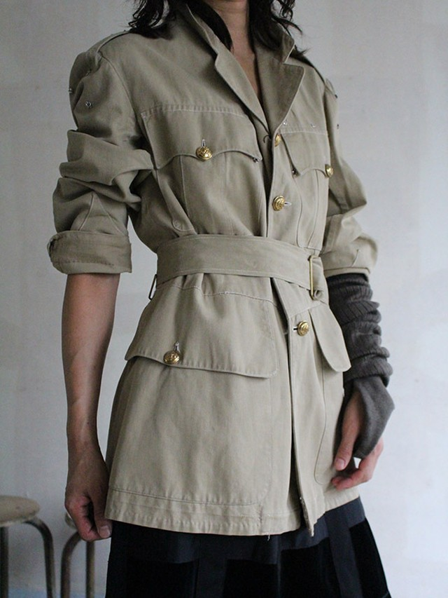 30s Frech Military Jacket