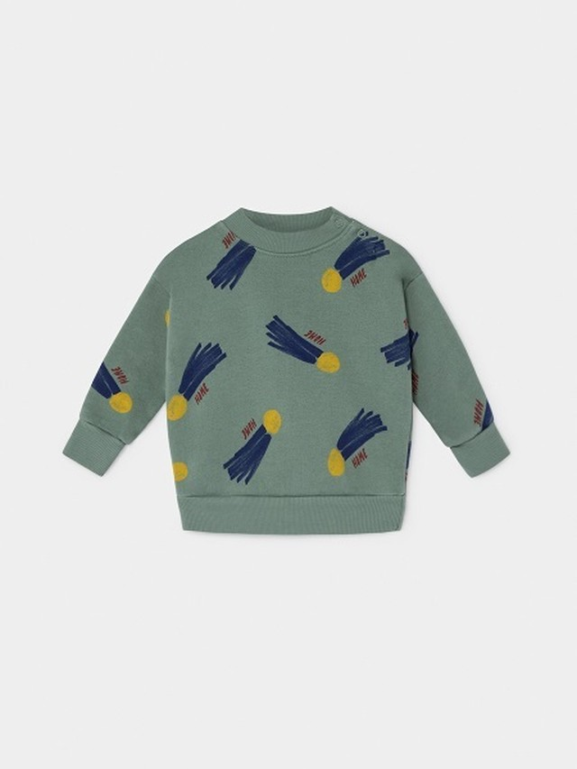 【19AW】ボボショセス(BOBO CHOSES) -ALL OVER A STAR CALLED HOME SWEATSHIRT[12-18m/18-24m]