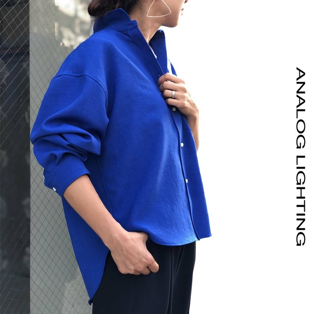 Wide Shirts/BLUE