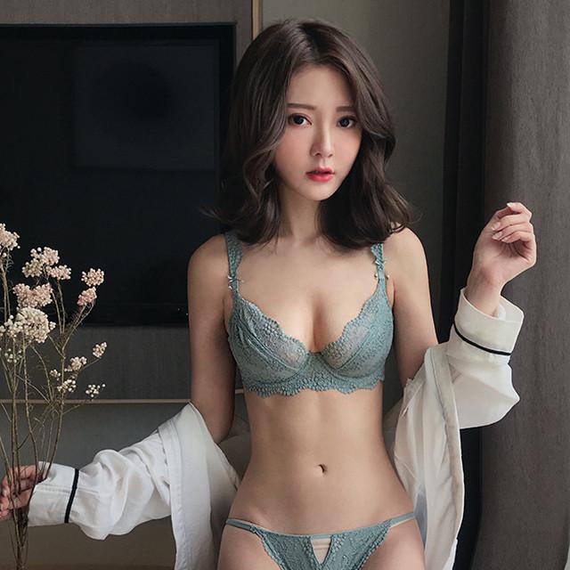 little flower brassiere set ZBL231