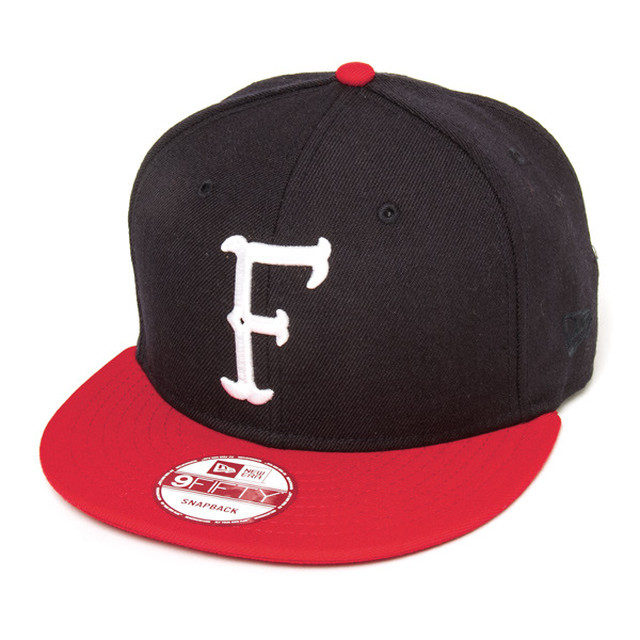 NF OLD INITIAL SNAP BACK CAP