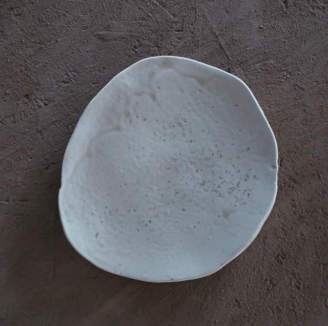 楕円皿, 磁器 / A286 / 前田美絵