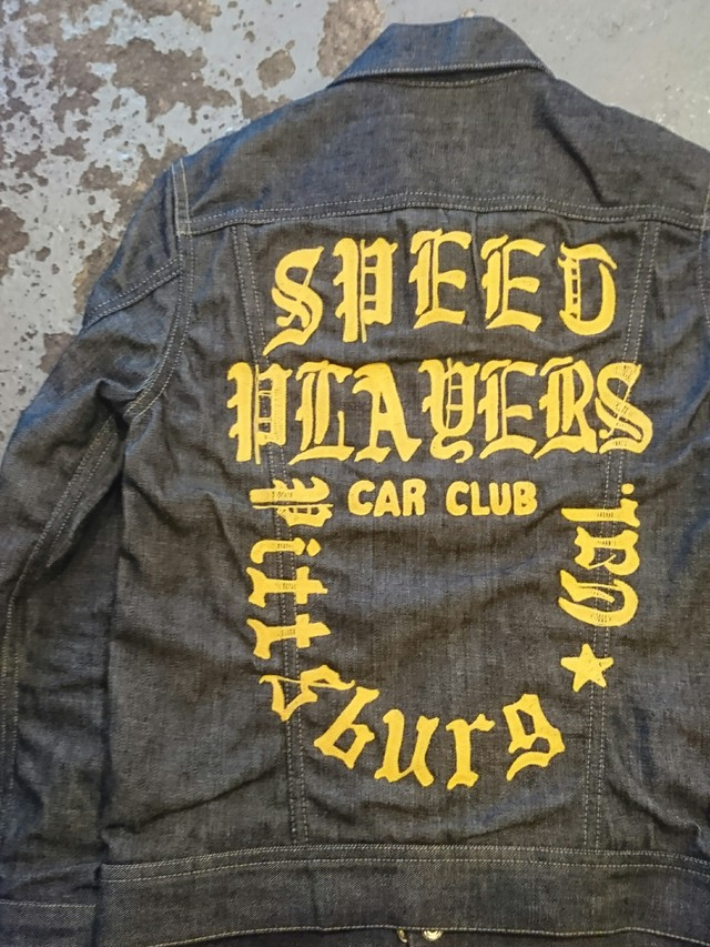 """BAA COSTOME MFG. """"SPEED PLAYER"""" CAR CLUB JACKET"""