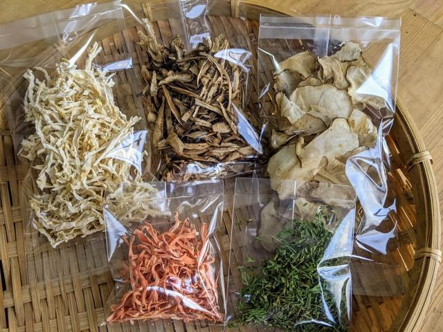 北海道自然栽培干し野菜セット:和風