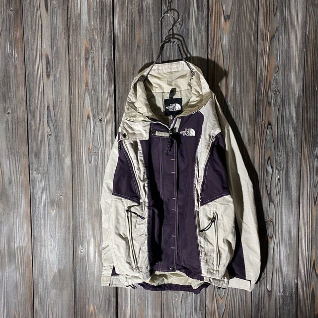 [THE NORTH FACE]purple and gray switching jacket
