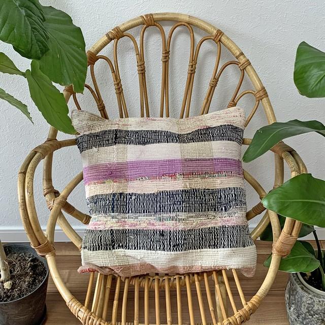 手織り キリム クッション 中 C060