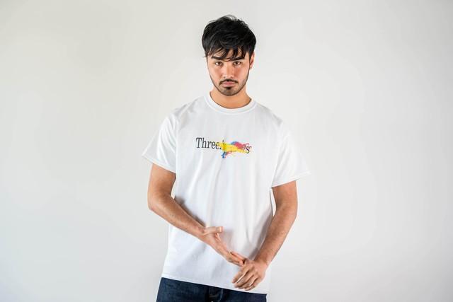 ThreeArrows Paint S/S TEE (arrows)