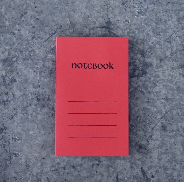 Paperback Notebook / べに