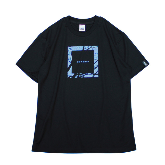 Square Wood S/S PL <Black×P.Blue> - メイン画像