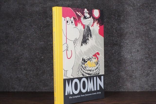 【VA241】Moomin 7: The Complete Lars Jansson Comic Strip /visual book