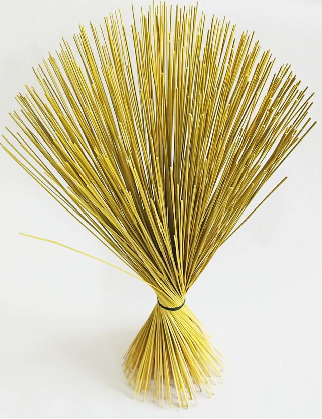 【イ草フラワー イエロー】Rush Grass Flower Yellow 35cm