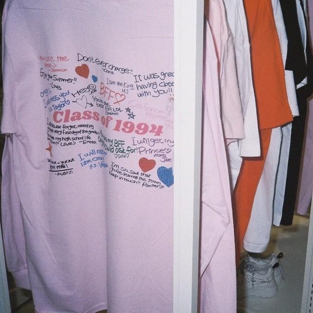【Cat & Parfum】Class of 1994 Yearbook Long Sleeve